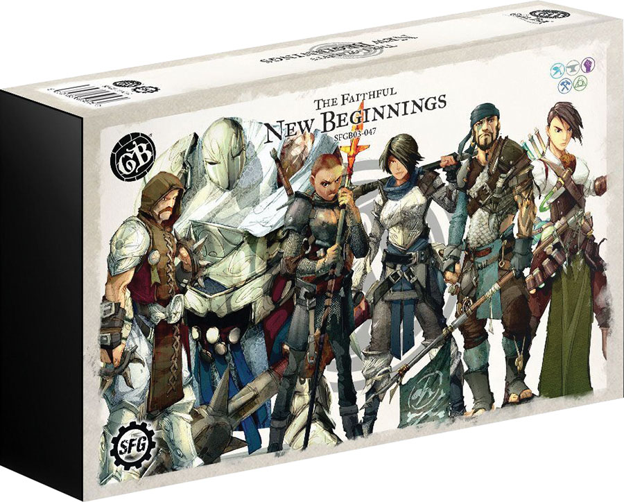 Guild Ball: The Faithful New Beginnings Box Front