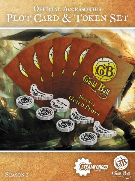 Guild Ball Plot Card & Token Set Box Front