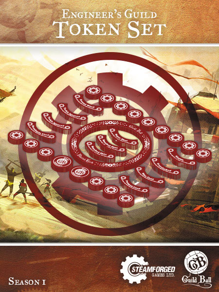 Guild Ball Engineer Token Set Box Front