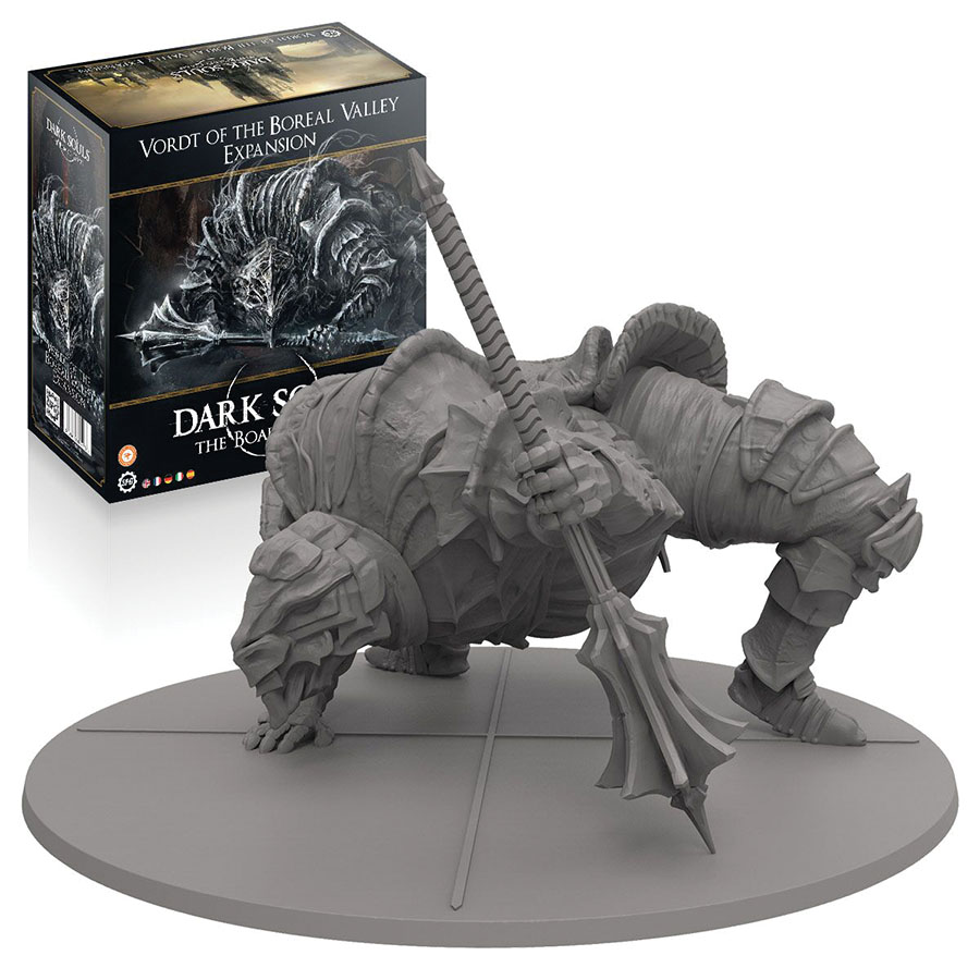 Dark Souls: Vordt Of The Boreal Valley Expansion Box Front