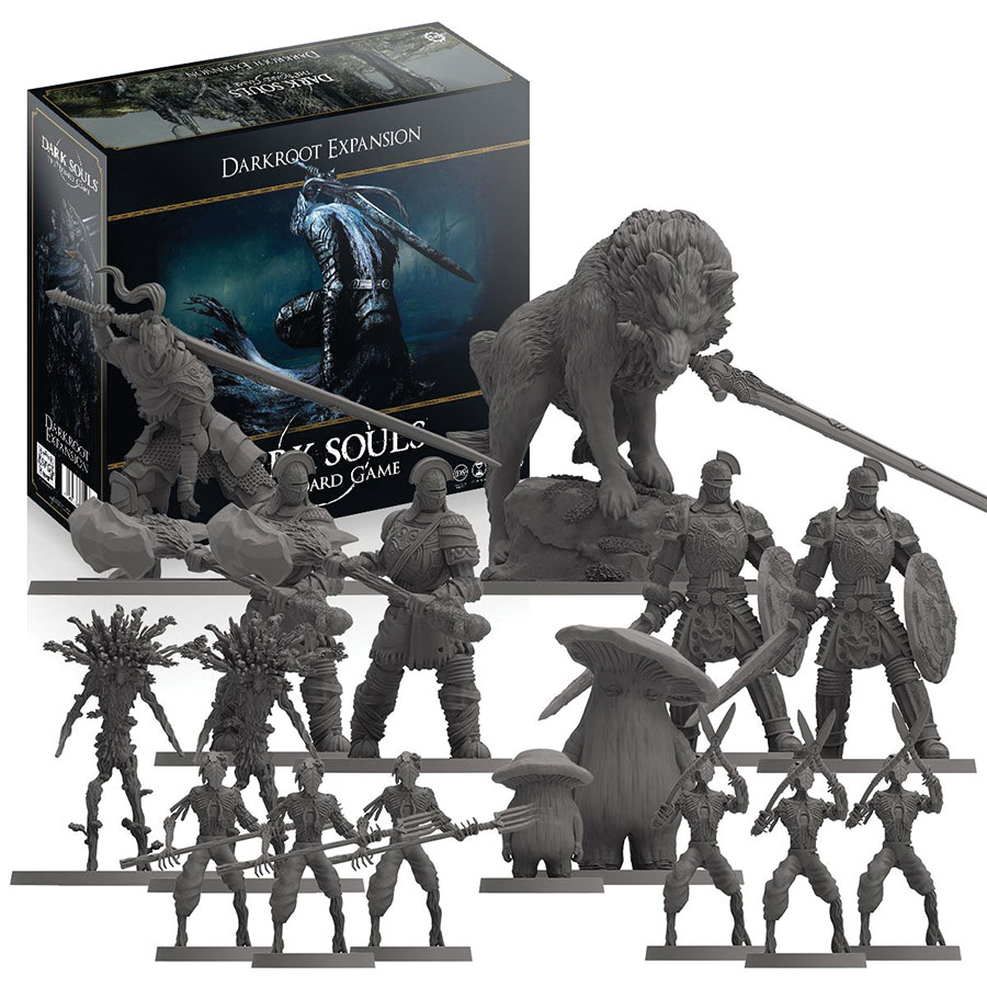 Dark Souls: Darkroot Basin And Iron Keep Tile Set Game Box