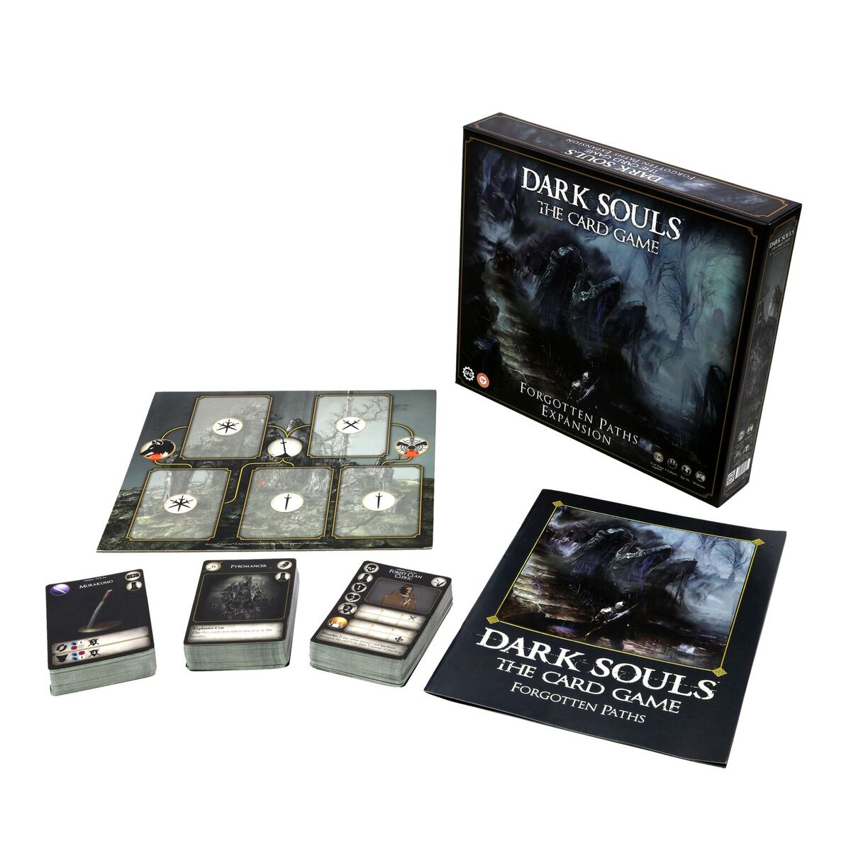 Dark Souls: The Card Game Forgotten Paths Expansion Box Front