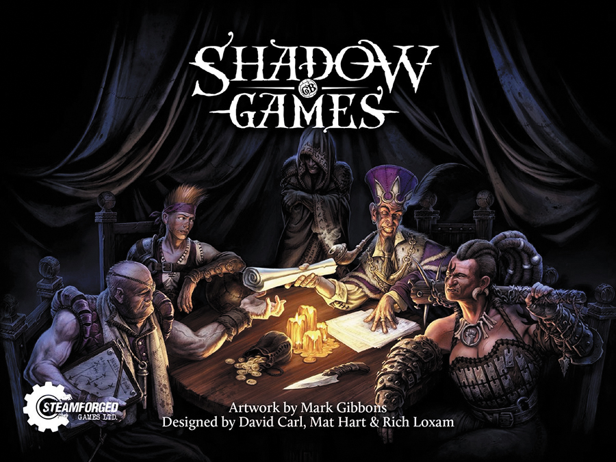 Shadow Games Box Front
