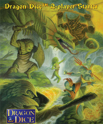 Dragon Dice: Two Player Starter - Firewalkers And Treefolk Box Front