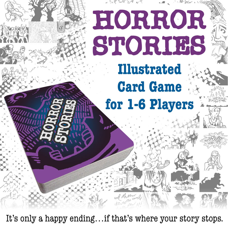 Horror Stories Card Game Game Box