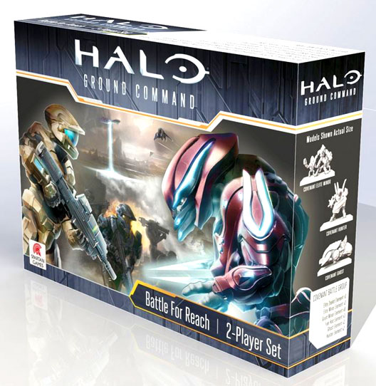 Halo: Ground Command 2 Player Battle Box - Battle For Reach Box Front