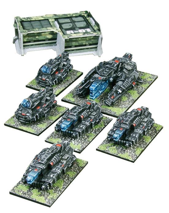 Firestorm Planet Fall: Dindrenzi Federation Heavy Armour Helix Box Front