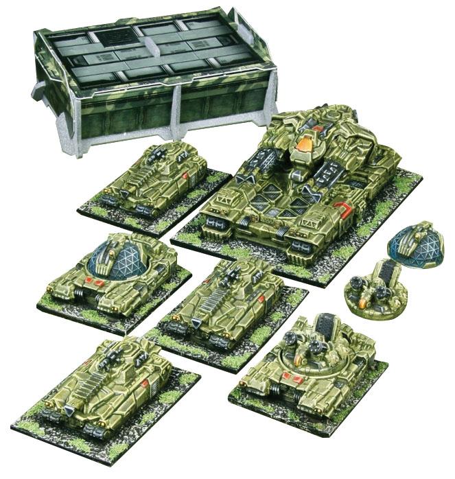 Firestorm Planet Fall: Terran Alliance Heavy Armour Helix Box Front