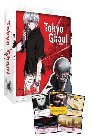 Tokyo Ghoul: The Card Game Box Front