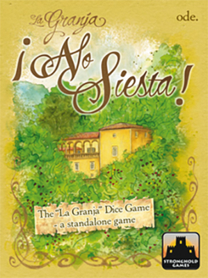 La Granja: The Dice Game - No Siesta! Box Front