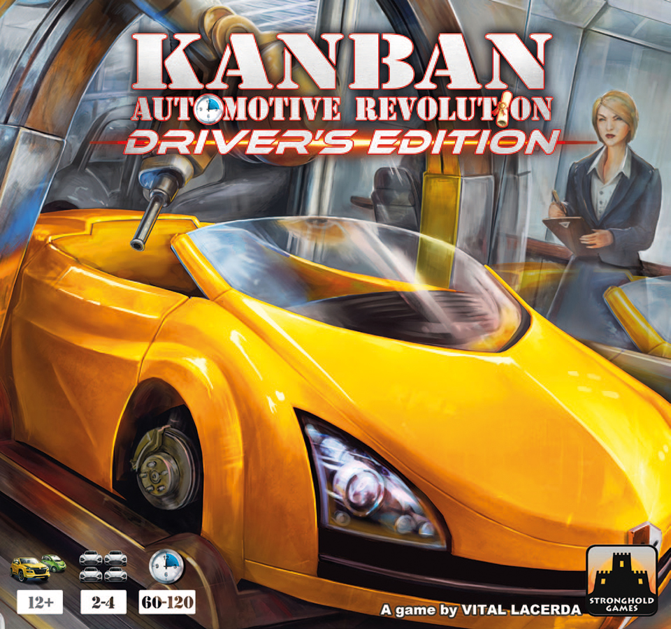 Kanban: Automotive Revolution - Driver`s Edition Box Front