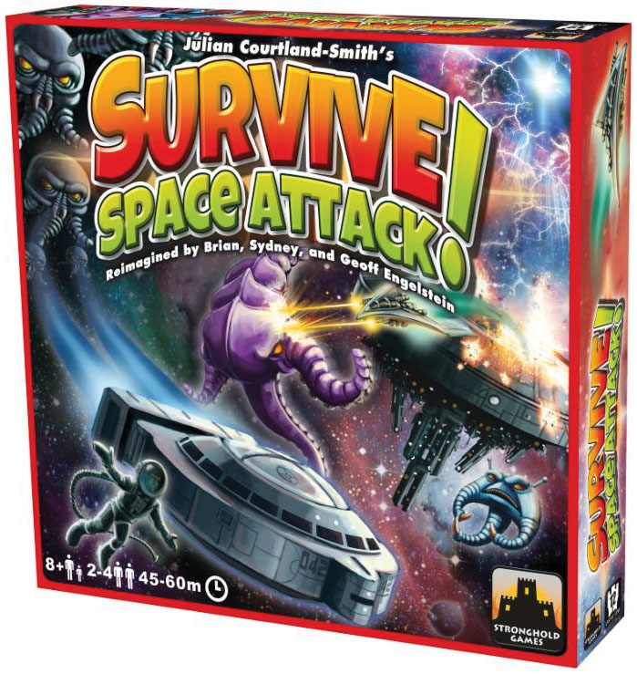 Survive: Space Attack! Box Front