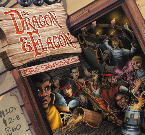 The Dragon And Flagon Box Front