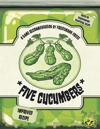 Five Cucumbers Box Front