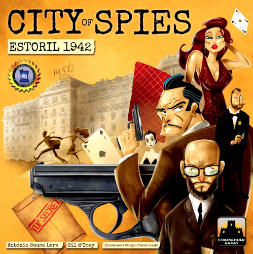 City Of Spies: Estoril 1942 Box Front