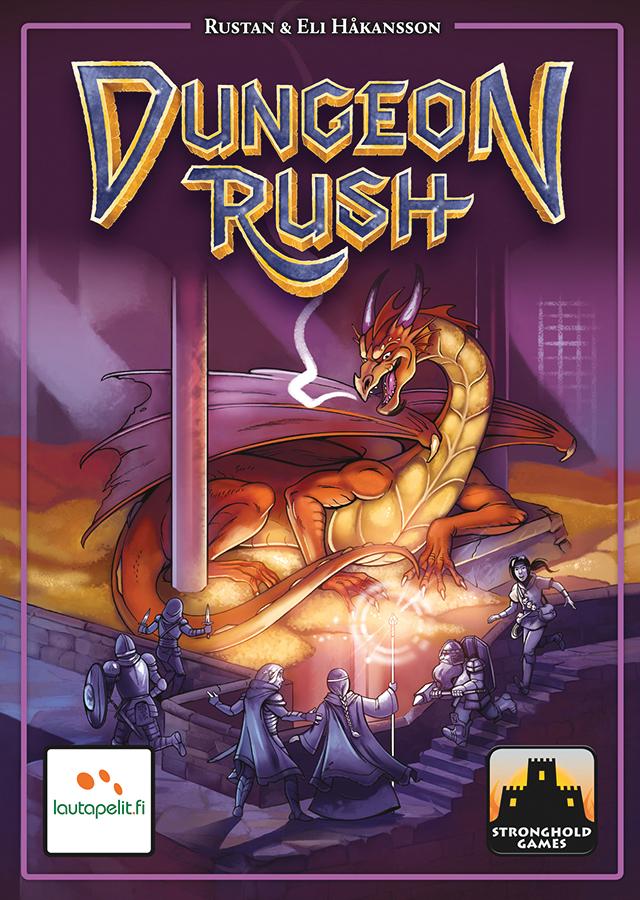 Dungeon Rush Box Front