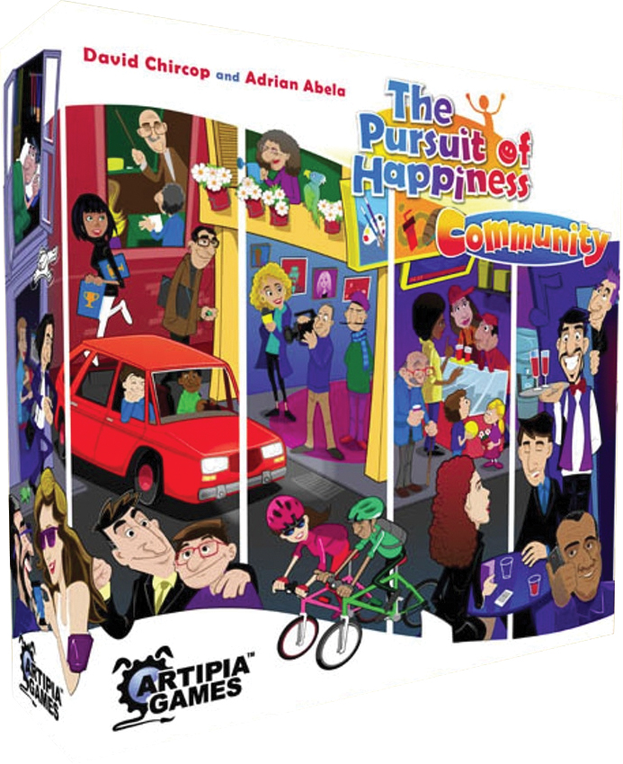 The Pursuit Of Happiness: Community Expansion Box Front