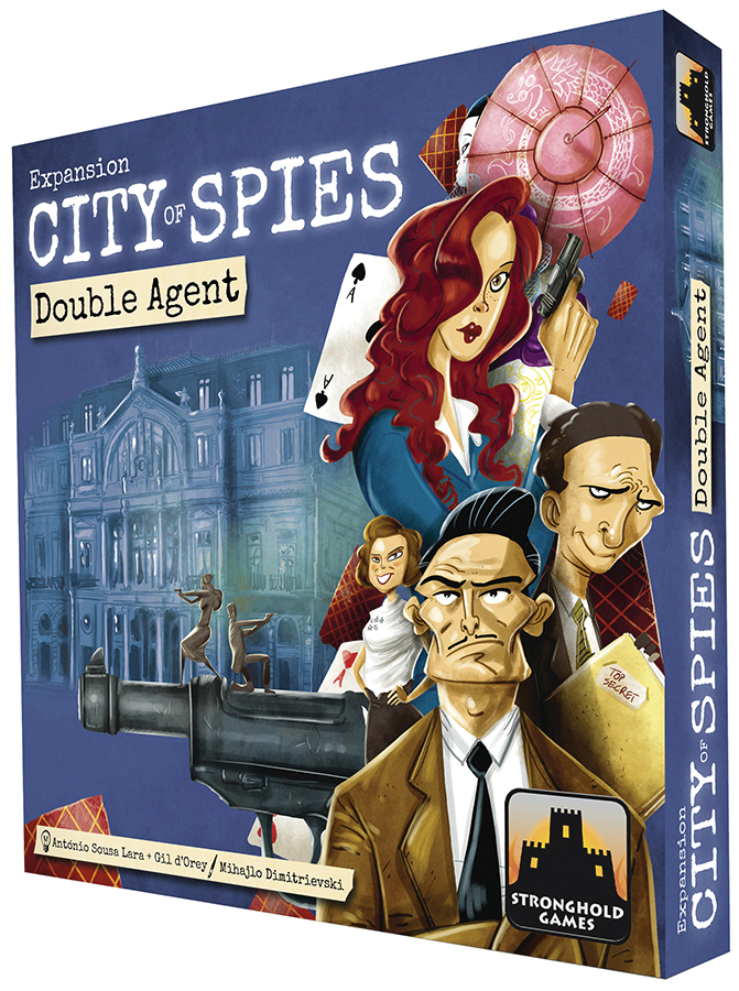 City Of Spies: Estoril 1942 - Double Agents Expansion Box Front