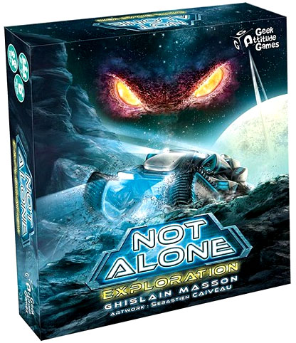 Not Alone: Exploration Expansion Box Front
