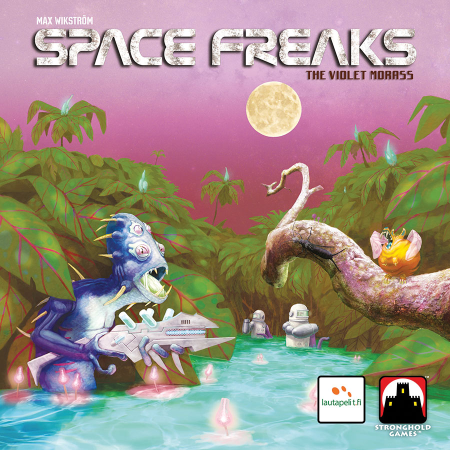 Space Freaks: Violet Morass Game Box