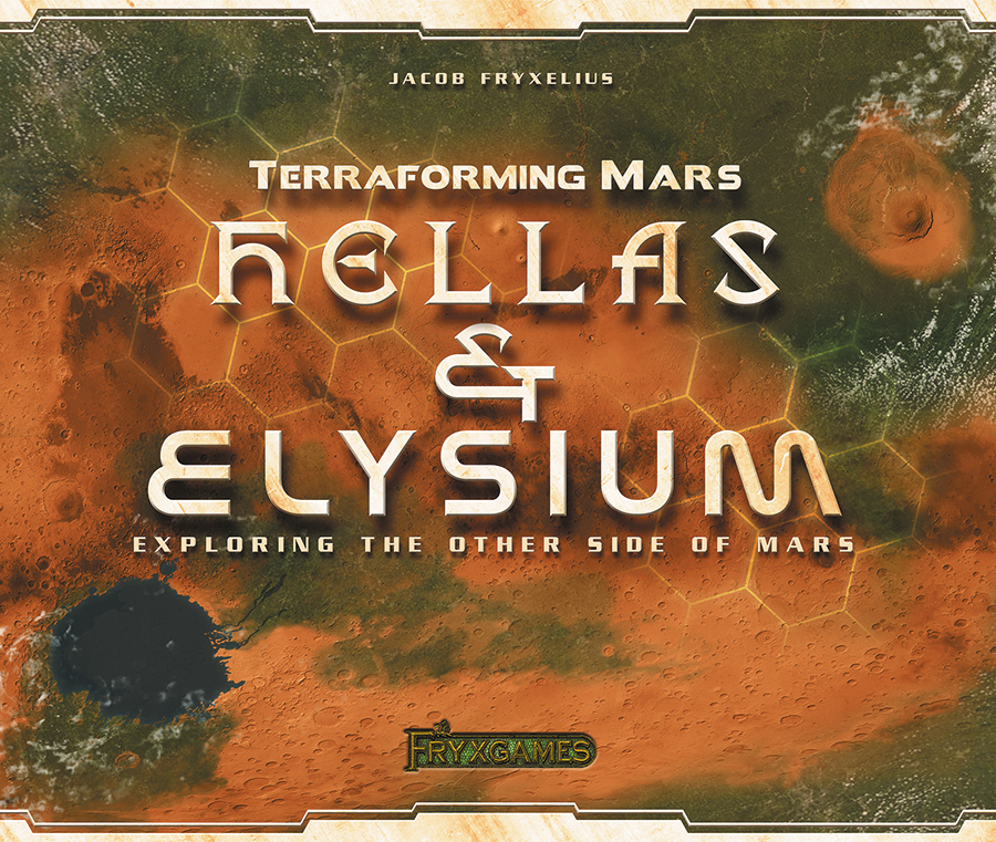 Terraforming Mars: Hellas And Elysium Expansion Box Front