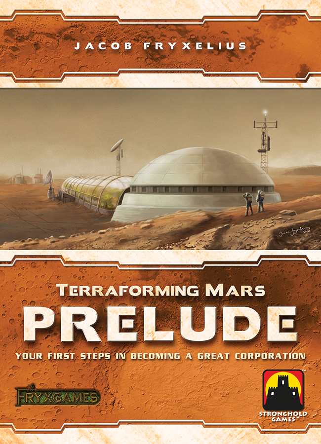 Terraforming Mars: Prelude Expansion Box Front