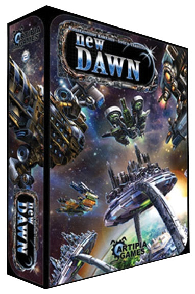 Among The Stars: New Dawn (stand Alone) Box Front