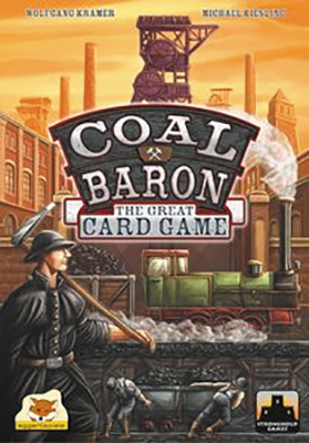 Coal Baron: The Great Card Game Box Front