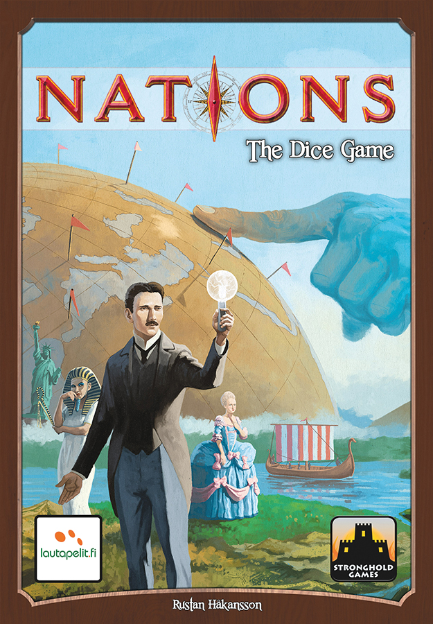 Nations: The Dice Game Box Front