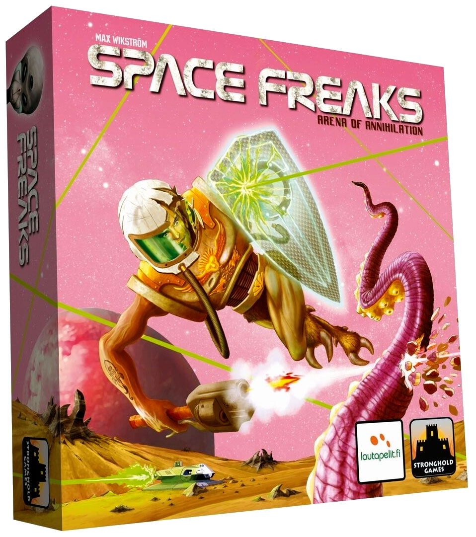 Space Freaks Box Front