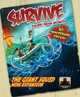 Survive Escape From Atlantis: The Giant Squid Mini Expansion Revised Edition Box Front