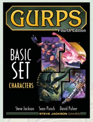 Gurps: 4th Edition - Basic Set Characters Hardcover Box Front