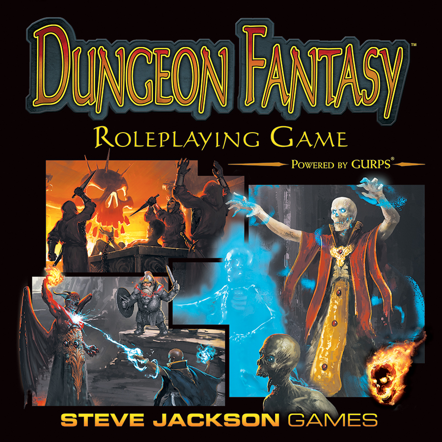 Dungeon Fantasy Rpg: Boxed Set Box Front