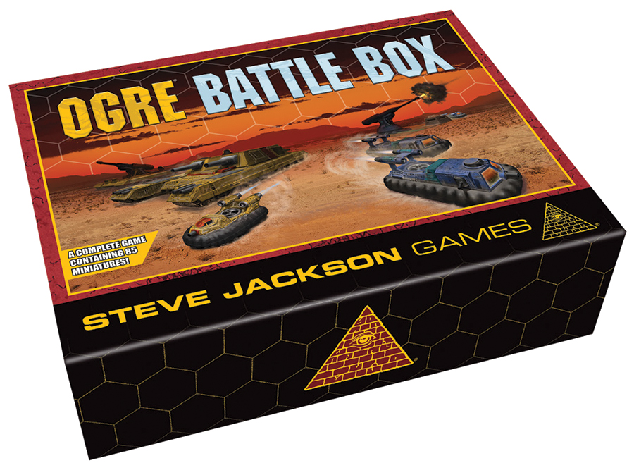 Ogre: Battle Box Box Front