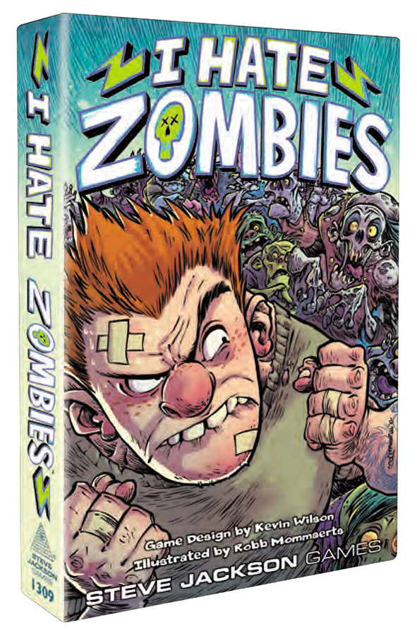 I Hate Zombies (display 6) Box Front