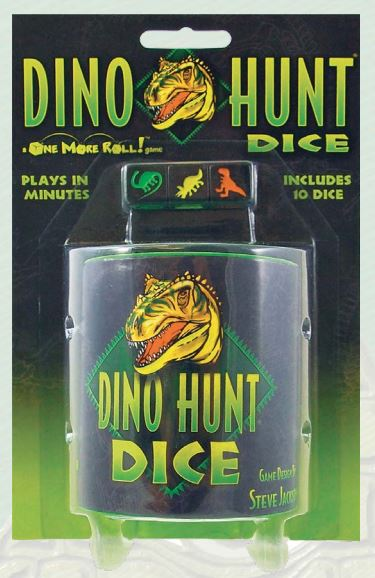 Dino Hunt Dice Game Box Front