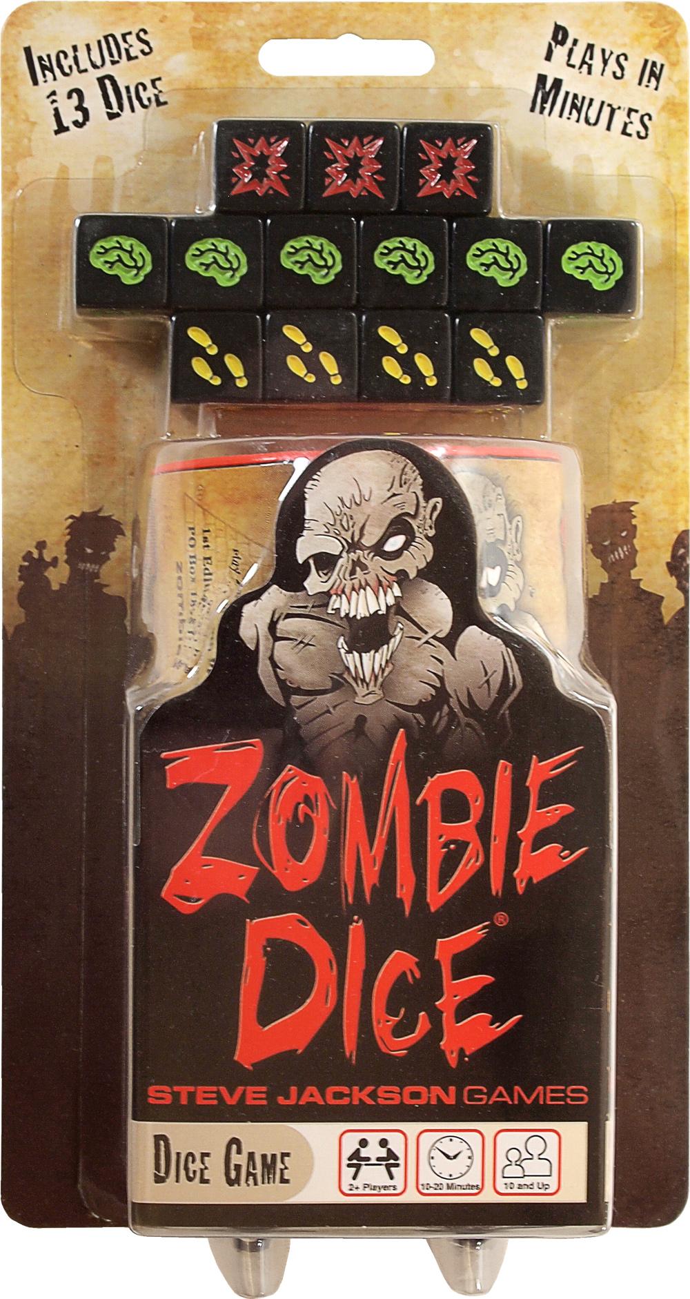 Zombie Dice Box Front