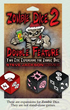 Zombie Dice 2: Double Feature Box Front