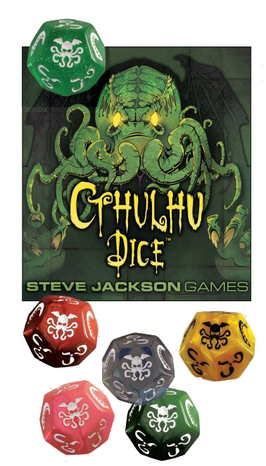 Cthulhu: Dice Single (display 6) Box Front