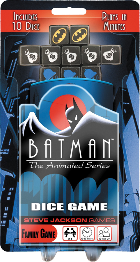 Batman: The Animated Series Dice Game Box Front
