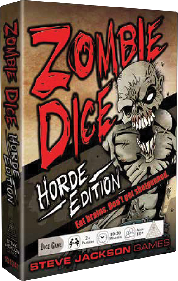 Zombie Dice: Horde Edition Box Front