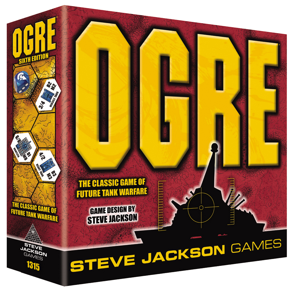 Ogre (sixth Edition) Box Front