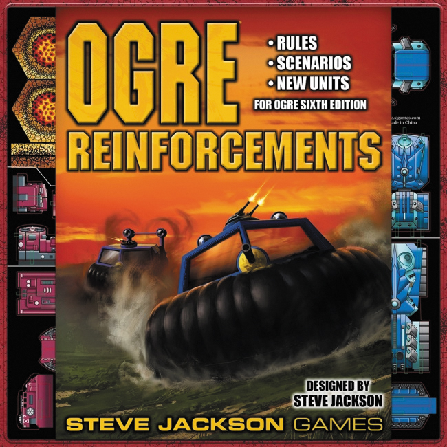 Ogre: Reinforcements Expansion Box Front