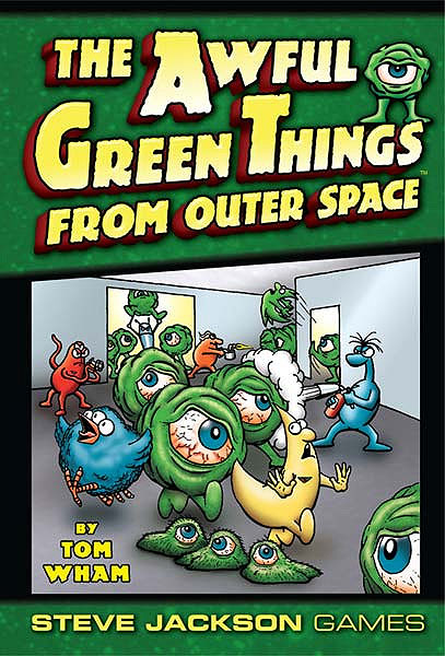 Awful Green Things From Space Box Front