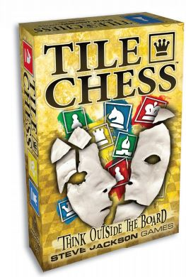 Tile Chess Box Front