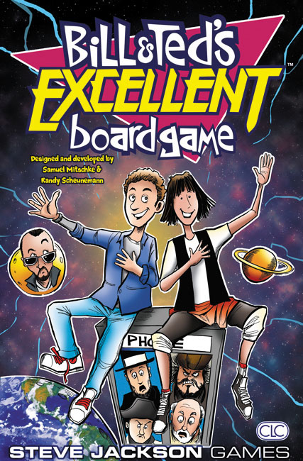 Bill And Ted`s Excellent Boardgame Box Front