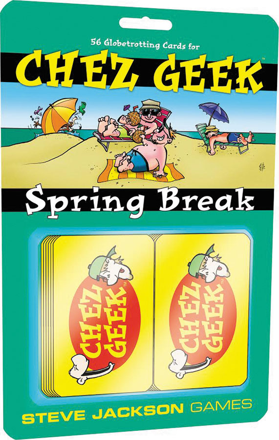 Chez Geek: Spring Break Expansion Box Front