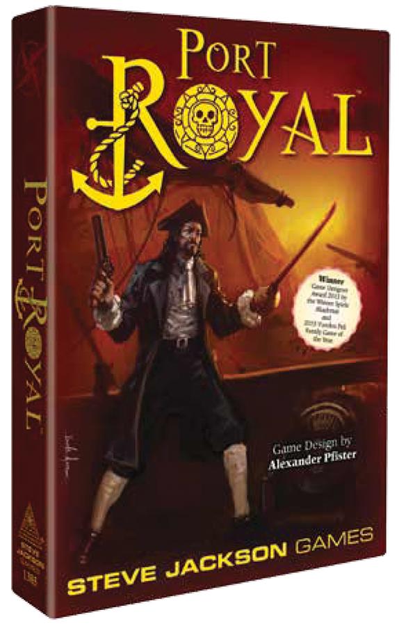 Port Royal Box Front