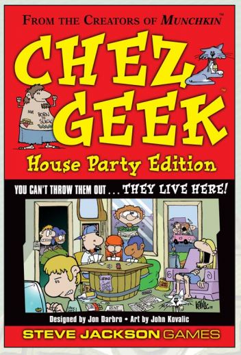 Chez Geek: House Party Edition Box Front
