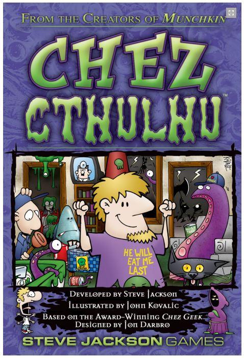 Chez Cthulhu Box Front